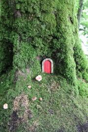 Un sentier de fées a été aménagé le... (PHOTO ISABELLE DUCAS, LA PRESSE) - image 7.0
