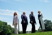 Donald Trump et Andrzej Duda étaient accompagnés de... (REUTERS) - image 2.0