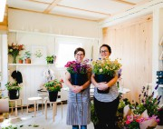 Evelyne Guindon et Clémence Rivard-Hiller, d'Origine Fleurs... (PHOTO FOURNIE PAR EVELYNE GUINDON) - image 6.0