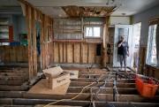 La maison de Sophie Lajoie, complètement détruite, donne... (PHOTO ANDRÉ PICHETTE, LA PRESSE) - image 5.0