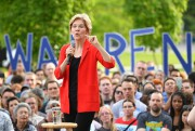 La sénatrice du Massachusetts Elizabeth Warren courtise la... (PHOTO MANDEL NGAN, ARCHIVES AGENCE FRANCE-PRESSE) - image 10.0