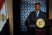 Mohamed Morsi s'adressant à la nation après son... (AFP) - image 2.0