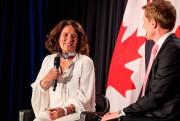 MargaretTrudeau, mère deJustinTrudeau etex-femme de Pierre Elliott Trudeau,... (PHOTO HUGO-SÉBASTIENAUBERT, LA PRESSE) - image 2.0