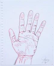 Human Hand Without Cell Phone, 11mai2019, JimCarrey... (PHOTO ALAIN ROBERGE, LA PRESSE) - image 6.0