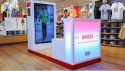 Le kiosque UMood, que l'entreprise Uniqlo a testé... (PHOTO TIRÉE DU SITE WEB D'UNIQLO) - image 10.0