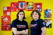 NathalieFerreira, chargée de projet, et LorraineFontaine, coordonatrice du... (PHOTO ALAINROBERGE, LA PRESSE) - image 4.0