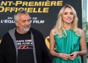 Luc Besson et Sand Van Roy en avril... (AFP) - image 2.0