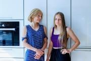 JulieBranchaud et sa filleAliceBourassa... (PHOTO ALAINROBERGE, LA PRESSE) - image 2.0