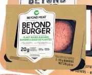 Une galette Beyond Meat fournit 18g de gras,... (PHOTO FOURNIE PAR BEYOND MEAT) - image 8.0