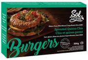 Un burger au chia et au quinoa germé... (PHOTO TIRÉE DU SITE INTERNET DE SOL CUISINE) - image 9.0