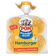 Un pain à hamburger au sésame POM fournit... (PHOTO TIRÉE DU SITE INTERNET DE POM) - image 10.0