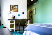 Une chambre de l'hôtel Drake Devonshire, à Wellington,... (PHOTO FOURNIE PAR DRAKE HOTEL PROPERTIES) - image 5.0