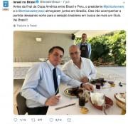 L'ambassade d'Israël au Brésil a été moquée sur les réseaux sociaux pour avoir... - image 2.0