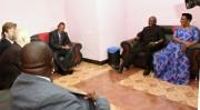 Au cours de son séjour au Burundi, le... (PHOTO TIRÉE DE TWITTER) - image 2.0
