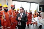 Éric Martel,PDG d'Hydro-Québec, ainauguré hier, à Montréal, le... (PHOTO MARTIN CHAMBERLAND, LA PRESSE) - image 2.0