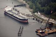 Le terminal du pipeline TransMountain àBurnaby, en Colombie-Britannique... (PHOTO JASONREDMOND, ARCHIVES REUTERS) - image 4.0