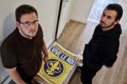 PierreLaedlein et Guillaume de Salvandy, militants de l'Action... (PHOTO JEAN-CHRISTOPHELAURENCE, LA PRESSE) - image 5.0