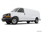 Chevrolet - Fourgonnette commerciale tronquée Express 2017