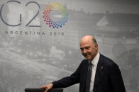 ARGENTINA-G20-TRADE-MOSCOVICI