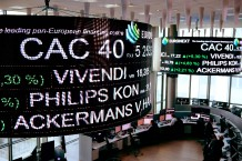 EUROPE-FRANCE-FINANCE-STOCKMARKET-EURONEXT