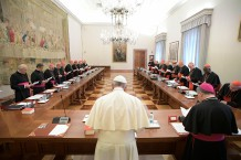VATICAN-POPE-INTERDICASTERIAL-MEETING