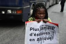 GREECE-EUROPE-MIGRANTS-LIBYA-TURKEY-PROTEST-DEMO