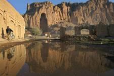 Le site des bouddhas de Bamiyan détruits par... (Photo: Archives Reuters)