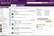La nouvelle version de Yahoo Mail... (Image: Yahoo)