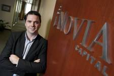 Chris Arsenault, d'iNovia Capital.... (Photo Hugo-Sébastien Aubert, La Presse)