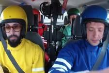 Ok Go... (Photo tirée de la vidéo d'Ok Go)