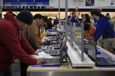 Les ventes d'ordinateurs personnels aux États-Unis n'ont pas progressé ces... (Photo Reuters)