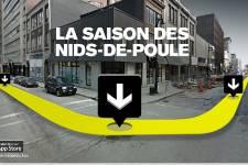 Ce printemps à Montréal, ça ne sent vraiment pas la Coupe. Ça sent  plutôt le dégel prématuré, et avec lui arrive la traditionnelle saison  des nids-de-poule.