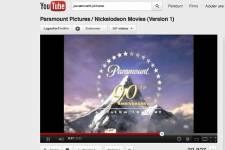 YouTube et Paramount Pictures ont conclu une entente qui permettra au  site de... (Photo prise sur le site de YouTube)