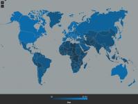 Le débit moyen des connexions au réseau internet a ralenti au dernier trimestre...