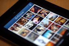 Instagram sur iPad.... (Photo: AFP)