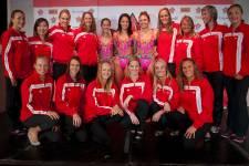 L'album de classe de l'équipe canadienne de nage synchronisée qui participera aux Jeux olympiques de Londres.