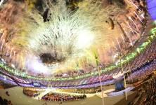 La cérémonie de clôture des Jeux a connu... (AFP)