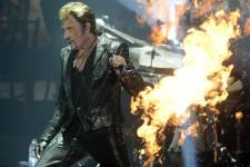 Nos photos du spectacle de Johnny Hallyday au Centre Bell le 4 octobre 2012.