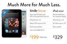 Amazon n'a pas attendu longtemps après la sortie du iPad mini pour établir des...
