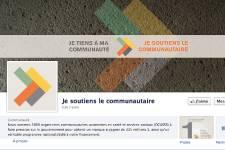 La page Facebook a été lancée le 13... (Photo tirée de la page Facebook de la campagne)