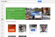 Google inaugure ses communautés sur son réseau social, une fonctionnalité...