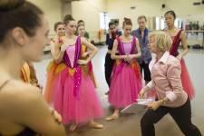 Les répétitions du ballet Casse-Noisette.