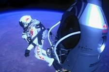 La chute libre deFelix Baumgartner de plus de 39 000mètres, le 14 octobre, a...
