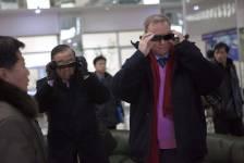 Eric Schmidt a essayé des lunettes 3D mercredi...