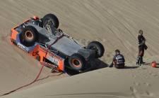 Une sélection des meilleurs photo de la quatrième étape du Dakar 2013 entre Nazca et Arequipa au Pérou.