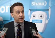 Le pdg Brad Shaw...