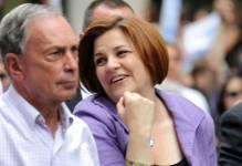 Michael Bloomberg et Christine Quinn...