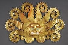 Les préparatifs entourant l'exposition Pérou: royaumes du Soleil et de la Lune au Musée des beaux-arts de Montréal.