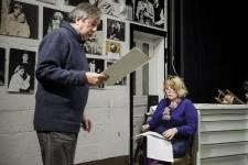 Nos photos des répétitions de la pièce Marius et Fanny présentée au Théâtre du Rideau Vert du 29 janvier au 23 février 2013.