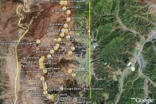 La carte de la Corée du Nord sur... (IMAGE GOOGLE)